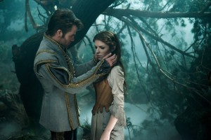 Chris Pine is the Prince and Anna Kendrick is Cinderella in Disney's Into the Woods.